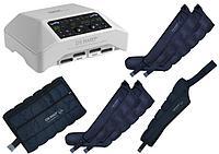 Аппарат для прессотерапии (лимфодренажа) Mark 300 + 4 манжеты для ног + пояс для похудения + манжета на руку