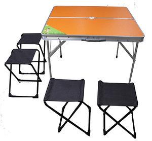 Стол раскладной + 4 табурета