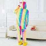 Пижама кигуруми Единорог радужный, фото 3