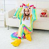 Пижама кигуруми Единорог радужный, фото 2