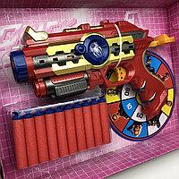 №14521 Набор игровой Бластер с героями Мстители Avengers щит человек паук и капитан америка