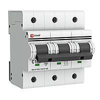 Выключатель автоматический модульный 3п C 125А 15кА ВА 47-125 PROxima mcb47125-3-125C EKF