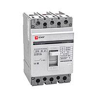 Выключатель автоматический 3п 250/125А 35кА ВА-99 PROxima mccb99-250-125 EKFK
