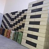 Гиперпрессованный лего кирпич облицовочный Сиреневый, фото 5
