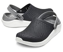 Сабо Crocs Crocband LiteRide темно серый