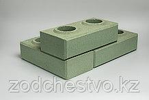 Гиперпрессованный лего кирпич облицовочный Светло-зеленый