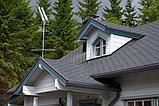 Угол наружный (внутренний) 90 град. с уплотнителем  для желоба d=125 мм, RUPLAST (Россия) Цвет: графит, фото 2