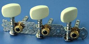 Комплект колковой механики на планке без втулки 35мм Alice AOD-017A(W)