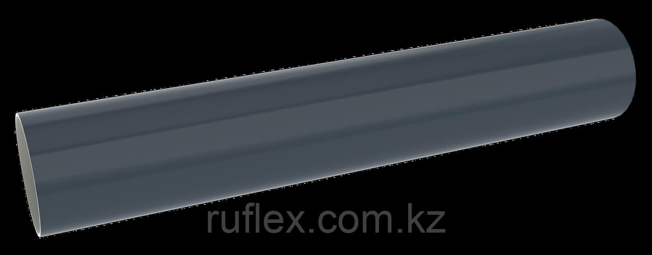 Труба водосточная d=90 мм, 3 м, RUPLAST Цвет: графит        тел./watsapp +7 701 100 08 59