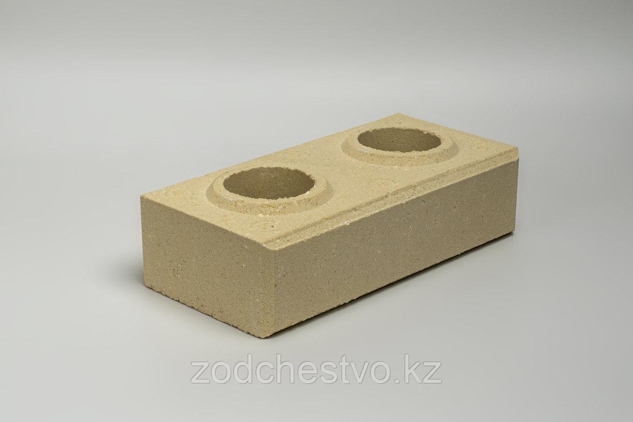Гиперпрессованный лего кирпич облицовочный Слоновая кость