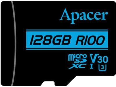 Карта памяти Apacer microSDXC R100 AP128GMCSX10U7-R 128Gb