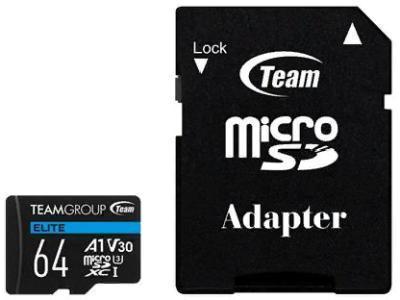 Карта памяти Team Group Elite Micro SDXC TEAUSDX64GIV30A103 64Gb