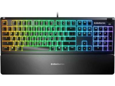 Клавиатура SteelSeries Apex 3 USB черный