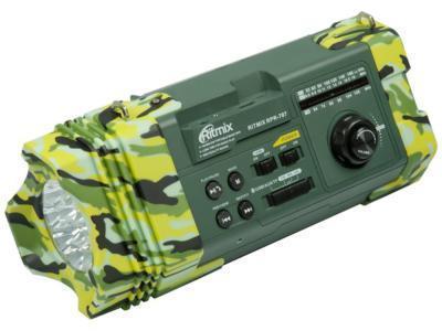 Радиоприемник Ritmix RPR-707 зеленый