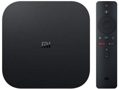 Медиаплеер Xiaomi Mi Box S черный
