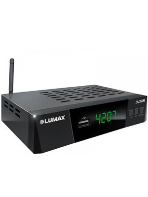 Спутниковое ТВ LUMAX DV4207HD черный