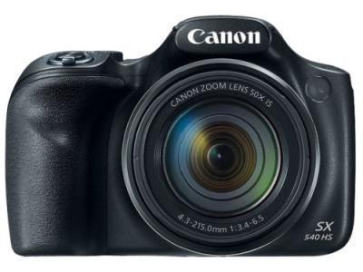 Фотокамера Canon PowerShot SX540 HS черный