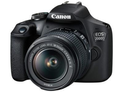 Фотокамера Canon EOS 2000D Kit EF-S 18-55 III черный