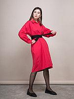 """Платье """"Сеул"""" Красный, 48/52"""