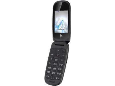 Мобильный телефон F+ Flip 1 черный