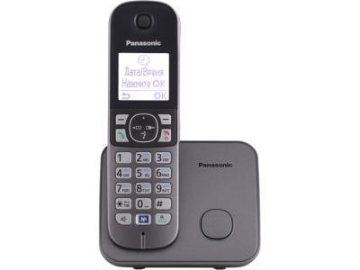 Радиотелефон Panasonic KX-TG6811CAM серый