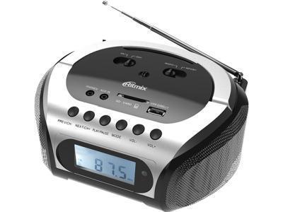 Радиоприемник Ritmix RBB-200BT серебристый