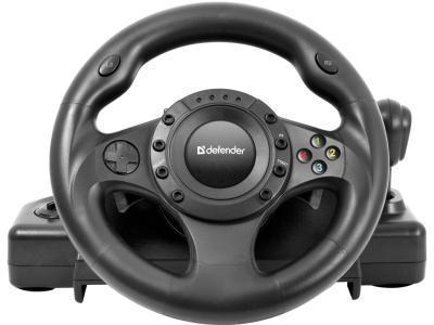 Игровой контроллер Defender Forsage Drift GT черный