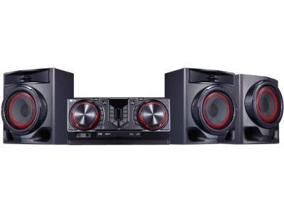 Музыкальный центр LG CJ-45 черный