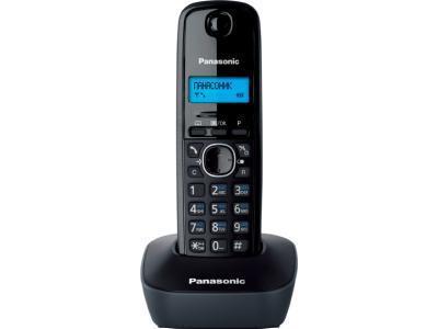 Радиотелефон Panasonic KX-TG1611RUH черный-серый