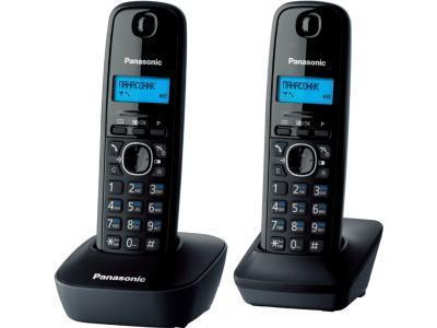 Радиотелефон Panasonic KX-TG1612CAH черный