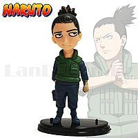 Игровая фигурка Наруто с подставкой 10 см персонаж Шикамару