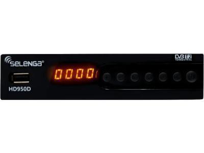 Спутниковое ТВ SELENGA HD950D черный