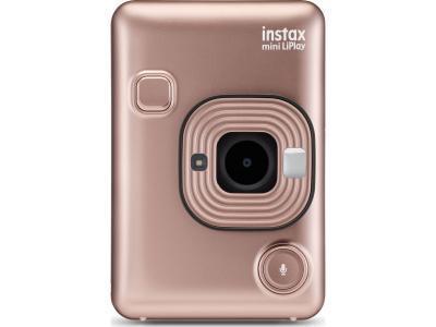 Моментальная фотокамера Fujifilm Instax Mini Liplay розовый