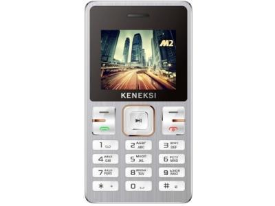 Мобильный телефон KENEKSI M2 серебристый