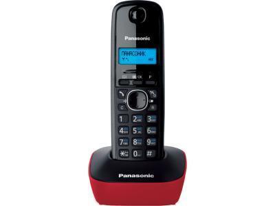 Радиотелефон Panasonic KX-TG1611 красный
