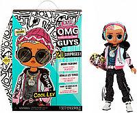 Кукла LOL Surprise OMG Guys fashion doll, Cool Lev