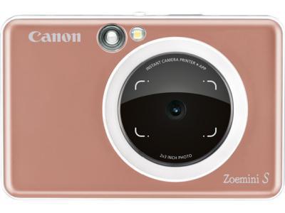 Моментальная фотокамера Canon Zoemini S Rose золотистый