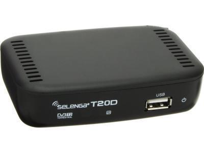 Спутниковое ТВ SELENGA T20DI черный