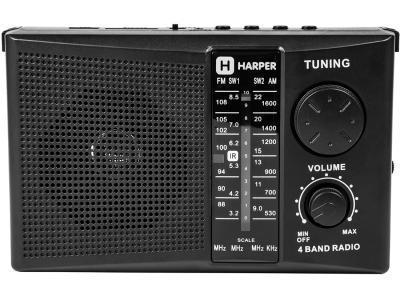 Радиоприемник HARPER HDRS-288 черный