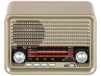 Радиоприемник Ritmix RPR-030 золотистый