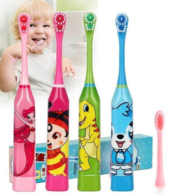 Детские электрические зубные щетки