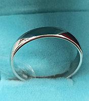 Кольцо серебро ( обручальное). Размер кольца 19,5.
