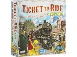 Настольная игра Hobby World Ticket to Ride Европа 3-е издание