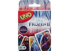 Настольная игра UNO Mattel: Uno Frozen-2