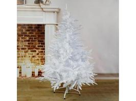Новогодняя елка Зимнее волшебство Элит белый перелив 2338578 120 см