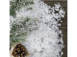 Новогодний декор Kaemingk KA470532 Снежные хлопья белые 100 г