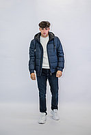 Куртка мужская зимняя короткая Vivacana синяя