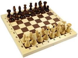 Настольная игра Десятое Королевство Шахматы деревянные 29x29