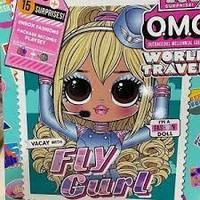 Кукла ЛОЛ ОМГ Летающая девочка - LOL OMG World Travel Fly Gurl Летающая девочка