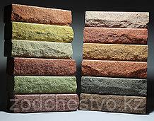 Гиперпрессованный лего кирпич облицовочный Рваный камень